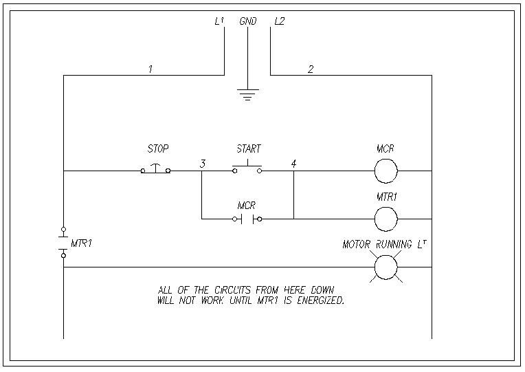 Motor Control how to wire a relay basic motor control wiring diagram at gsmportal.co