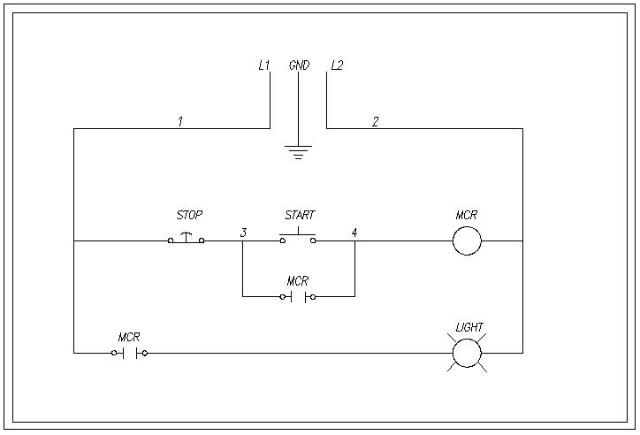 how to wire a relay rh how to wire it com 2Wire Start Stop Diagram Push Button Start Stop Diagram