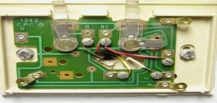 Basic Thermostat Wiring Image