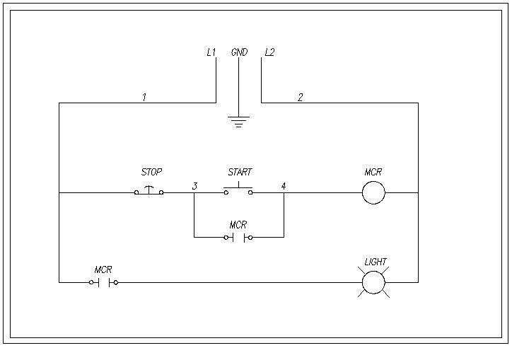 How To Wire A Relay Open Close Stop Wiring Diagram on